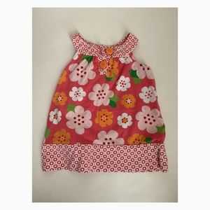 Used Carter's Girls Flower Dress - 12 months